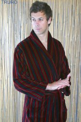 Truro Velour Dressing Gown